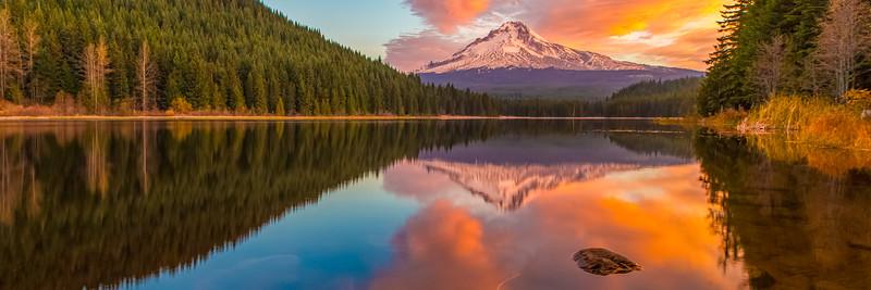 Mount Hood & Trilium Lake, Oregon