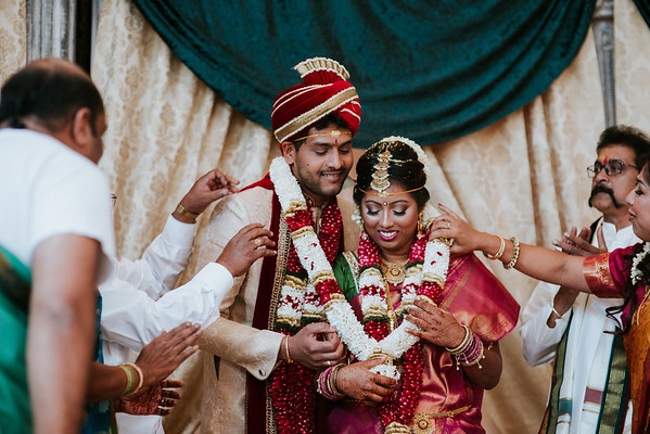 Saikiran & Darshiniy's Wedding at Chateau Cocomar - Second Photographer for Michelle Tate