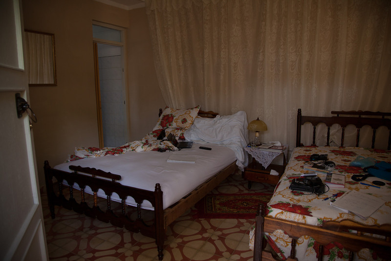 My room at the casa particular in Trinidad