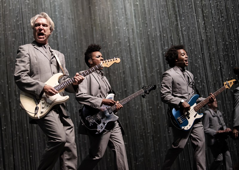 DAVID BYRNE at the Xponential Festival