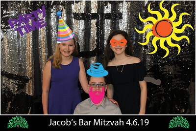 2019-04-06 Jacob Bar Mitzvah Photobooth