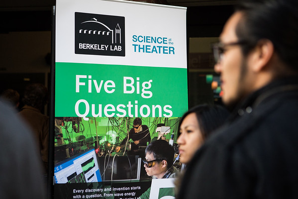 Lawrence Berkeley Lab: Science Theatre: 5 Big Questions 3.23.15
