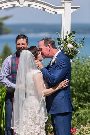 Sara + Thad Wedding Bay View Inn Petoskey