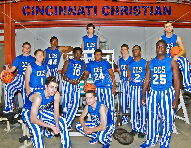CCS Basketball/Cheerleading 2011