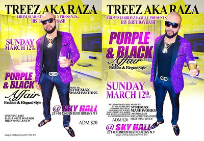 "TREEZ PRESENT HIS ANNUAL ""PURPLE & BLACK AFFAIR""(20)"