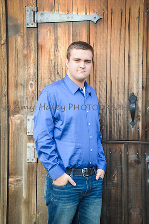 Conner's Senior Pix