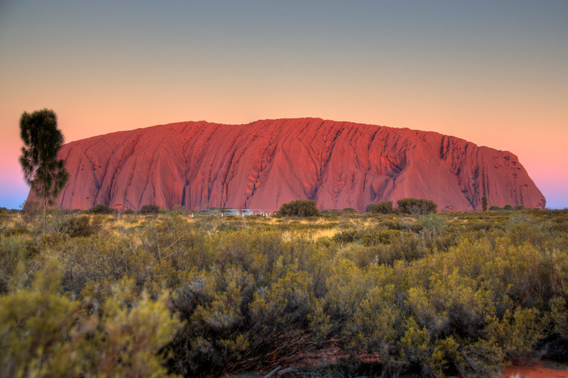 Uluru Sunset HDR  2 - Northern Territory, Australia