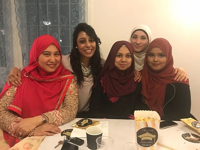 Nazifa's graduation party (2018-02-17)