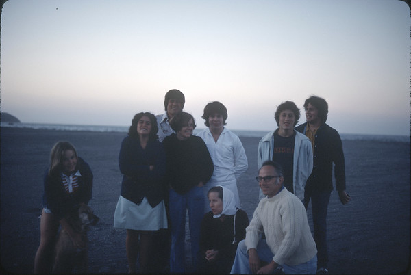 Clarke Family California March 1977