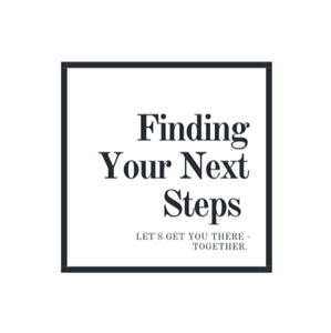 The logo for Dean Crawford's business, Finding Your Next Steps
