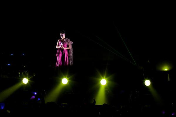 Faye Wong Beijing Concert - Oct. 29, 2010