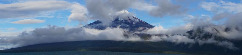 Volcano Osorno from Todos los Santos, Patagonia, Chile