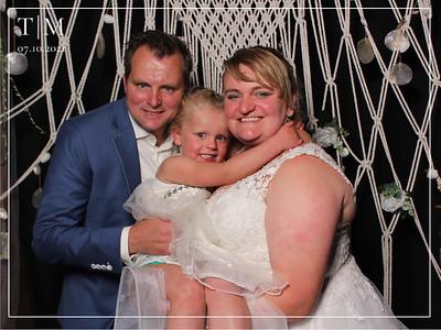 Bruiloft Tonnie en Mandy