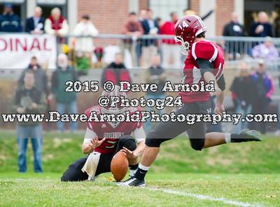 10/24/2015 - Varsity Football - St. Sebastian's vs Governor's Academy
