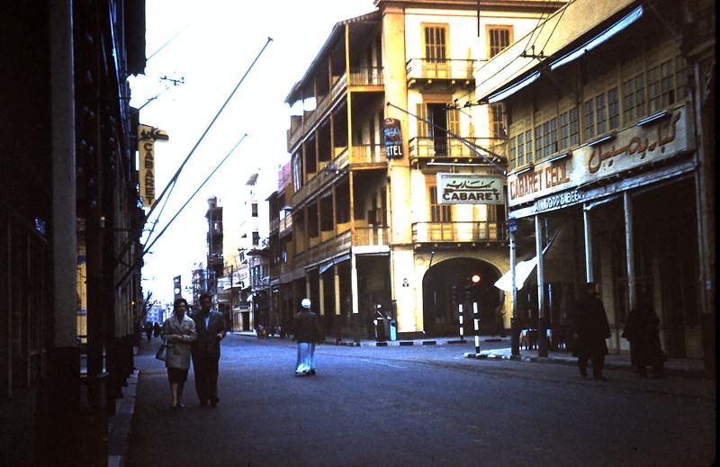 1960-2-18 (4) Street in Port Said, Egypt.JPG