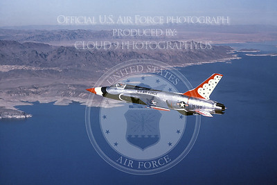 U.S. Air Force THUNDERBIRDS Republic F-105 Thunderchief Airplane Pictures