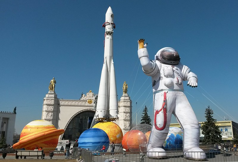 Cosmonaut Museum in Moscow, Russia