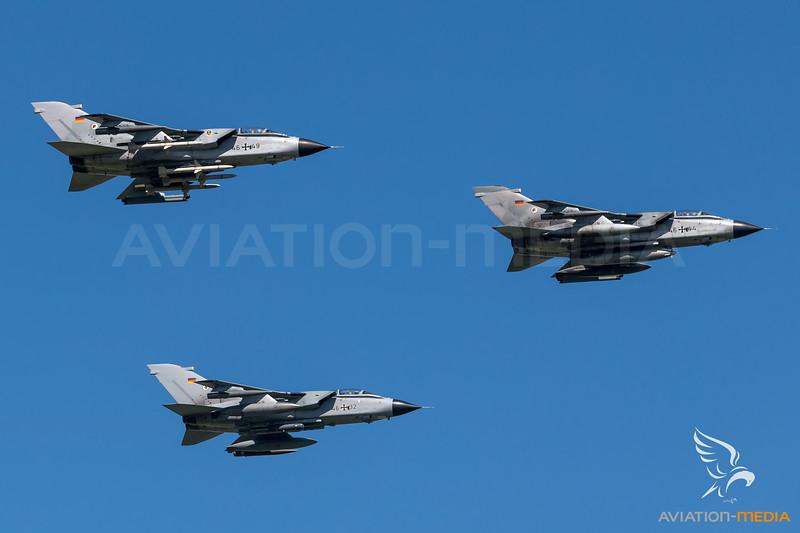 Luftwaffe TaktLwG 51 / PANAVIA Tornado ECR / 46+32 & 46+44 & 46+49
