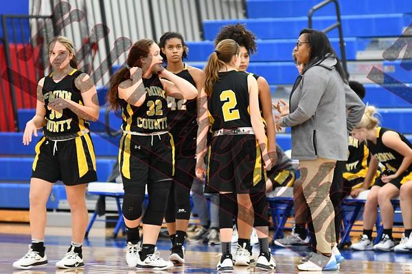 2019 JV Girls McMinn Vs Cleveland Lady Blue Raiders @ Raiders Arena