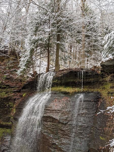 Buttermilk Falls  - December 5, 2019