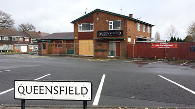 The Queensfield Pub, Upper Stratton Swindon 2014.