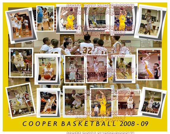 Cooper Basketball 2008-09