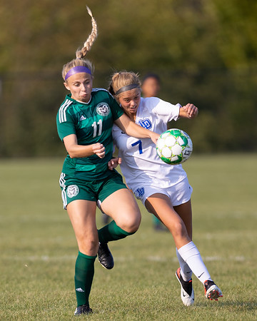 2020-09-22 | Girls Soccer | Central Dauphin vs. Lower Dauphin (Scrimmage)