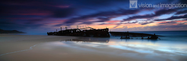 Maheno - Fraser Island