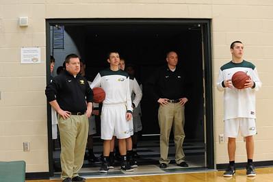 Boys Varsity Basketball - Newton 2011-2012