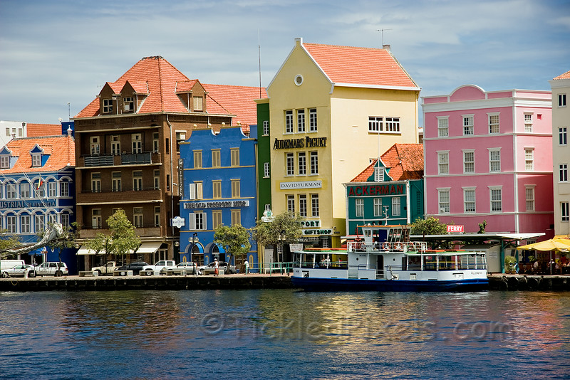 Punda District of Willemstad, Curaçao