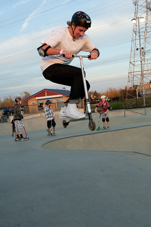 Jumper at the Skate Park 12 14 2011