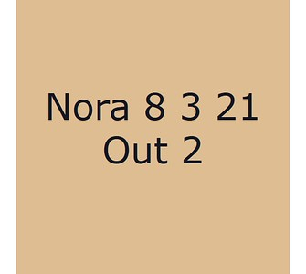 Nora 8 mars Out 2