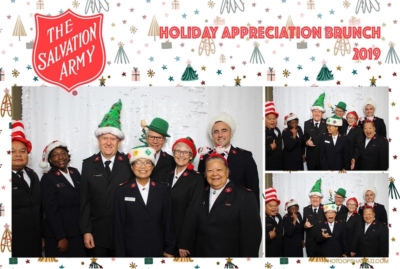 Salvation Army Holiday Brunch 2019 (Photo Booth Photos)