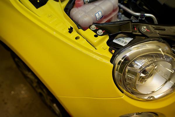 2012 Fiat 500 Yellow