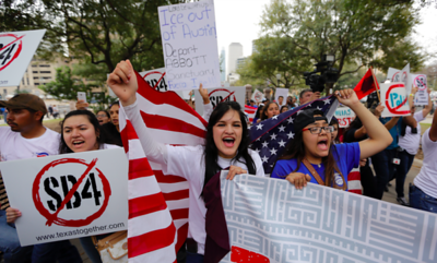 protest-sparks-texas-lawmaker-threats-of-gun-violence