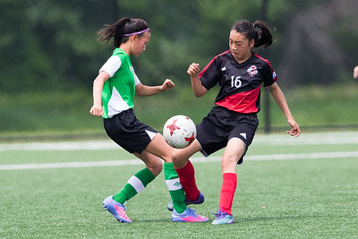 20170717 U13 girls, North Toronto Nitros vs West Ottawa Soccer Warriors