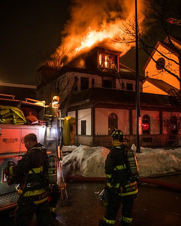 4 Alarm Structure Fire - 35 Essex St, Lawrence, MA - 2/22/21