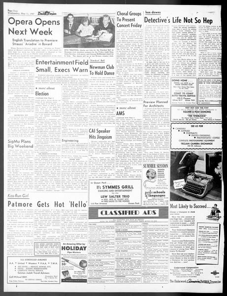 Daily Trojan, Vol. 40, No. 137, May 11, 1949