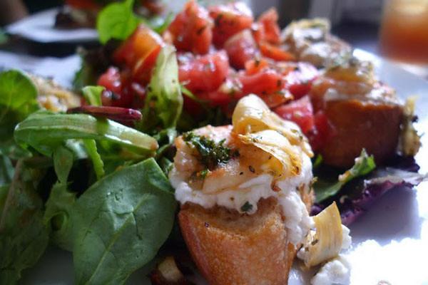 French Pantry Jacksonville shrimp & goat cheese bruschetta.jpg