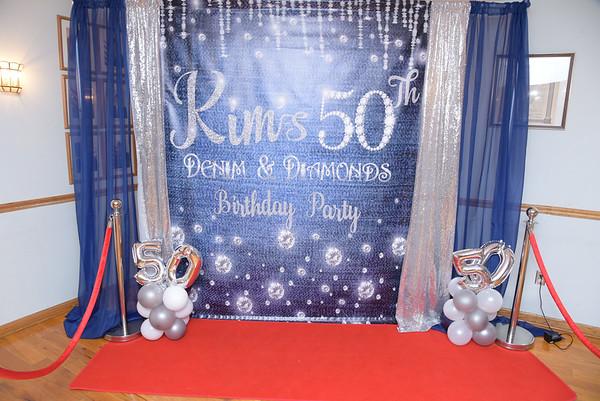 Kim 50th Birthday Bash