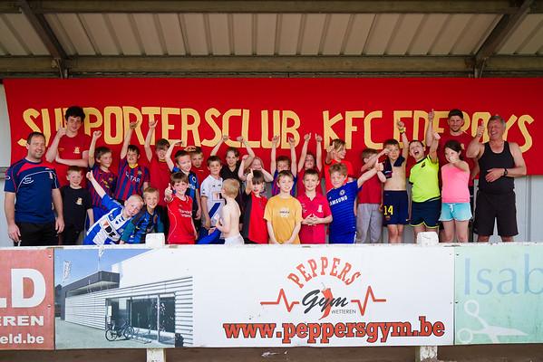 10/04/2015: KFC Edeboys jeugd Fundag