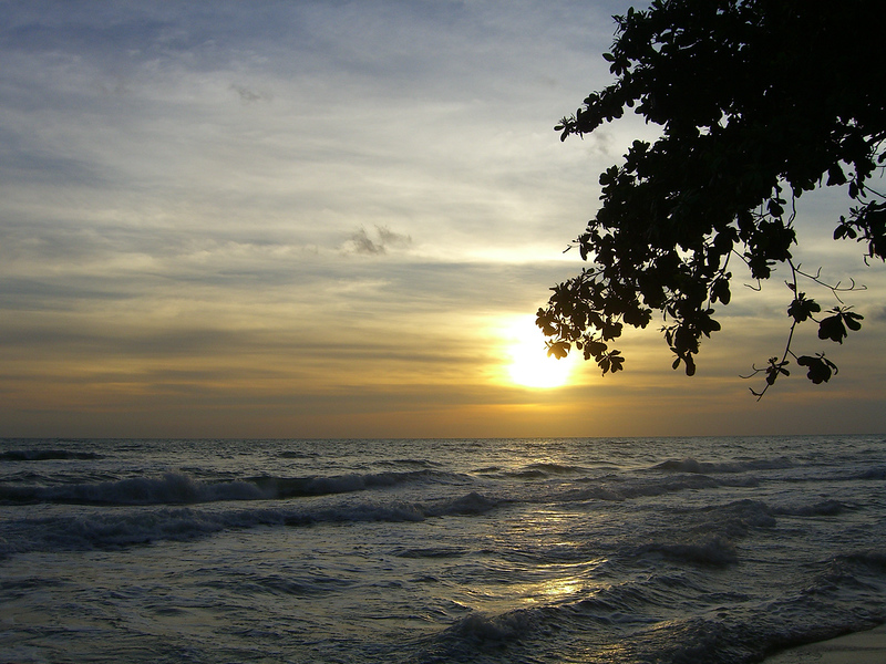 sunset over Koh Chang
