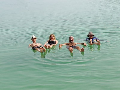 Day 7, Israel - Swim in the Dead Sea and travel to Jerusalem