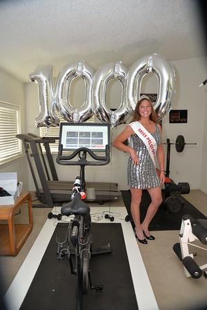 PELOTON 1000 RIDES!!