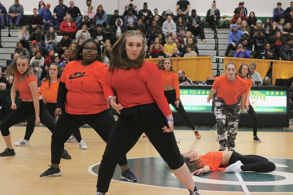 Main Street Dance Entertains at BCANY vs. Cancer Halftime