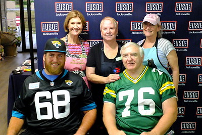 2019 'No Dough' Dinner @ USO Jacksonville