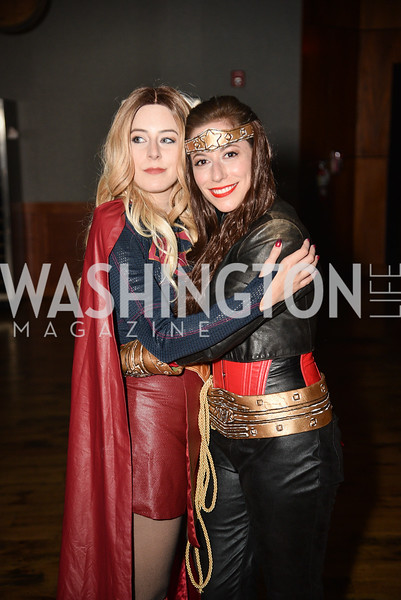 Addie Cannizzaro, Nicole Pitts,  Hope for Henry, 15th Anniversary Extravaganza, ' Sparkles and Sneakers', City Winery in Ivy City. October 20, 2018, photo by Ben Droz.