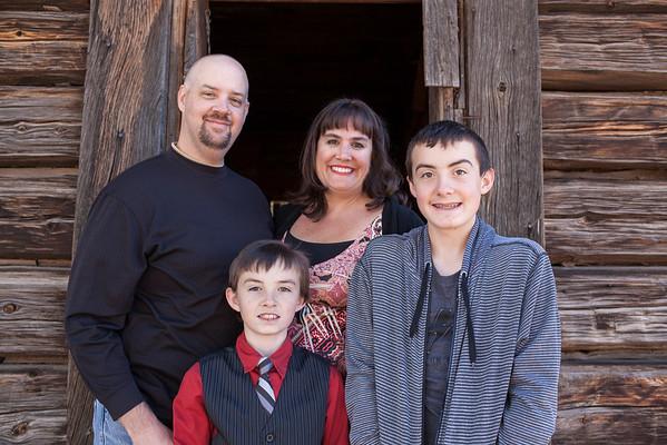 The Evans Family | November 2014