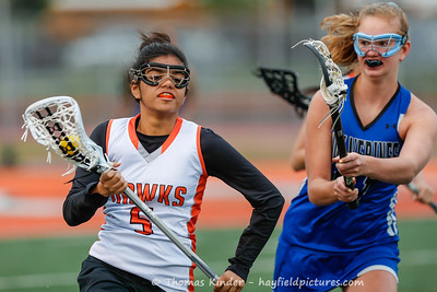 Girls JV Lacrosse v West Potomac 4/26/19