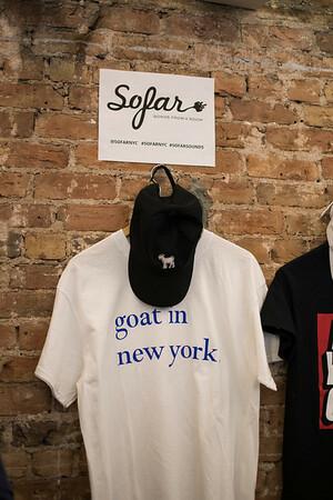 Sofar NYC (Cat Call launch @ Fair Folks & A Goat)